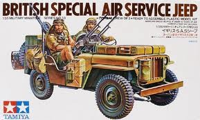 Brittish SAS jeep